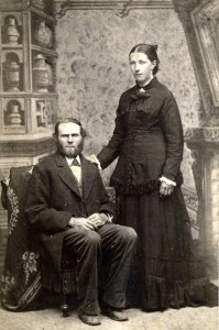 William O. and Janna (Te Kolste) Walvoord c. 1874
