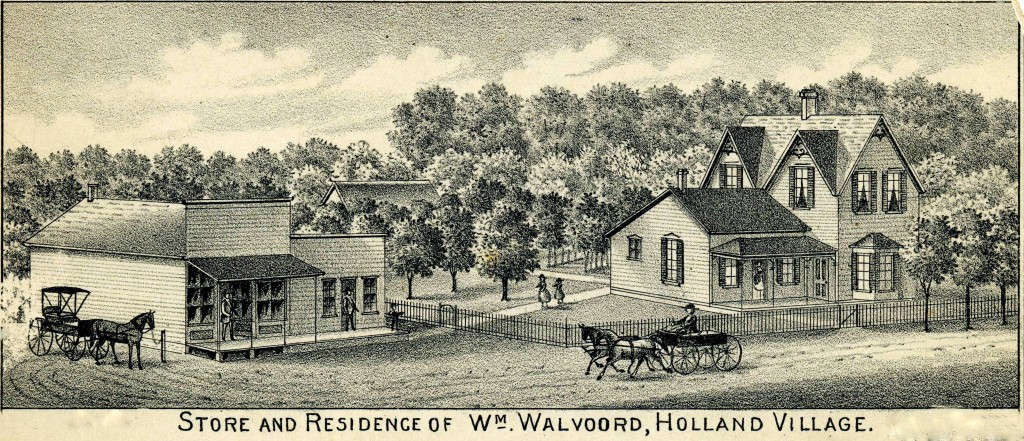 William O. Walvoord Homestead in Holland, Nebraska