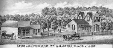 William Walvoord Homestead in Holland, Nebraska