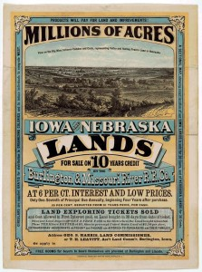 Millions of Acres of Land for the Homestead Act.