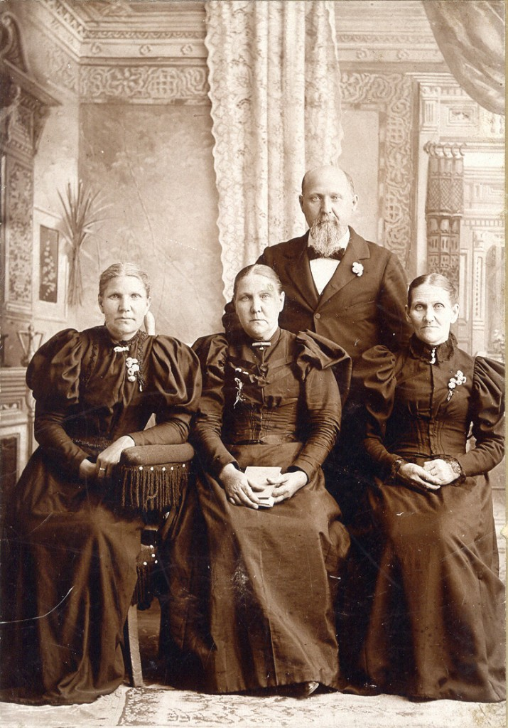Henry Walvoord and his sisters