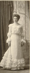 Louise Walvoord as a young woman. She never married.