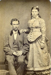 Frank and Delia (Walvoord) Lawson c. 1877