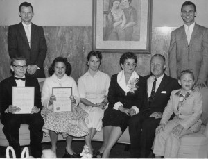 Amarillo's Family of the year 1958