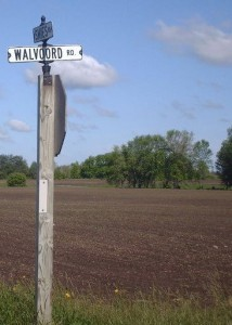 Henk and Henk visited Walvoord Road locates between Ooostburg and Cedar Grove, Wisconsin