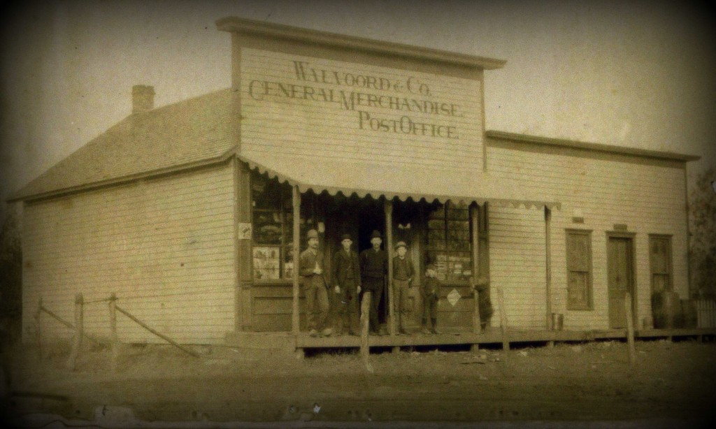 Walvoord & Co. General Store, Holland, Nebraska c. 1895