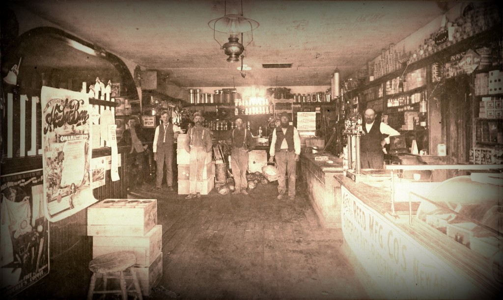 Walvoord & Co. General Store in Holland, Nebraska c.1899