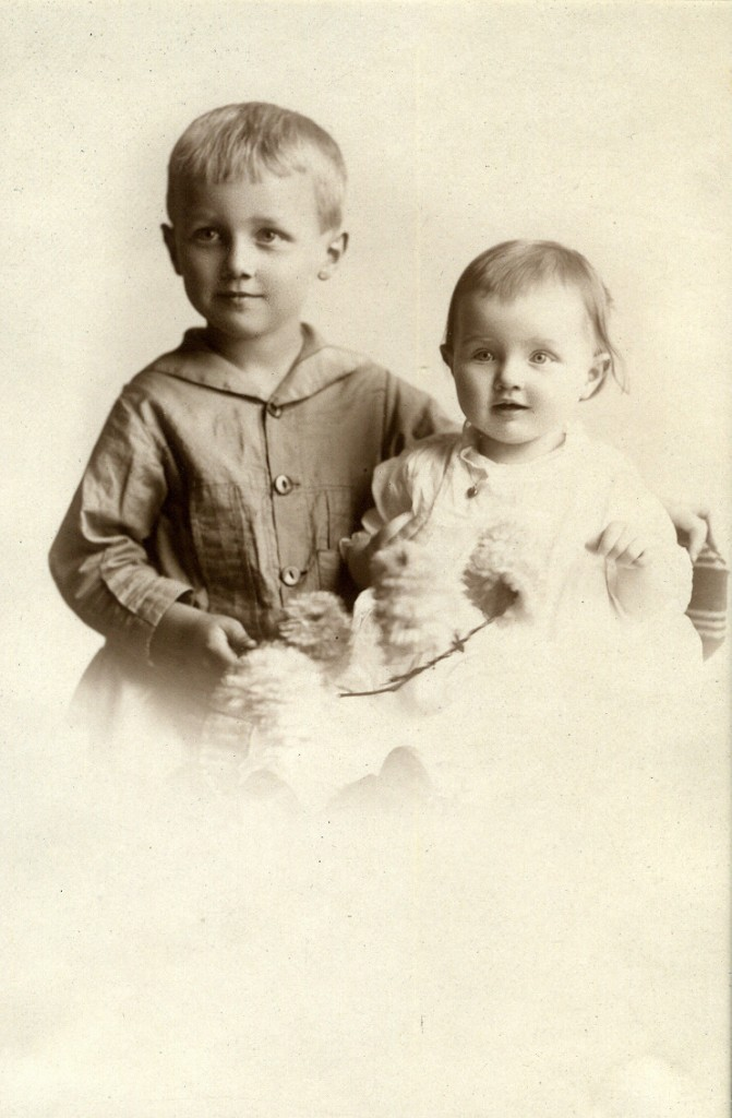 Willard Anthony Walvoord and Kathryn Louise Walvoord c.1917