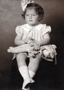 Joann as a young girl in Racine, Wisconsin