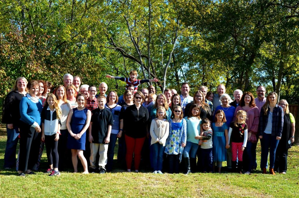 Walvoord Thanksgiving 2016 in Flower Mound, Texas